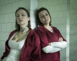 "Aleksandra Adamska, Agata Kulesza - ""Skazana"""